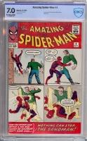 Amazing Spider-Man #4 CBCS 7.0 ow/w