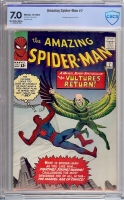 Amazing Spider-Man #7 CBCS 7.0 ow/w