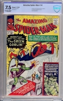 Amazing Spider-Man #14 CBCS 7.5 ow/w