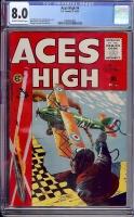 Aces High #4 CGC 8.0 ow/w