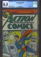 Action Comics #36 CGC 6.5 ow/w