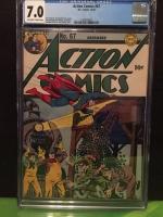 Action Comics #67 CGC 7.0 ow/w