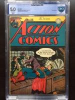 Action Comics #85 CBCS 5.0 ow/w