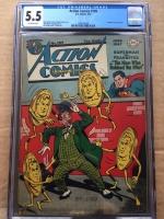 Action Comics #109 CGC 5.5 ow