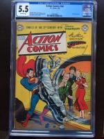Action Comics #146 CGC 5.5 ow