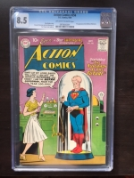 Action Comics #256 CGC 8.5 ow/w