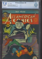 All-American Comics #40 CBCS 7.5 ow