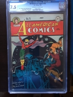 All-American Comics #75 CGC 7.5 ow/w