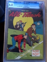 All-Flash #21 CGC 6.0 ow