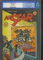 All Star Comics #24 CGC 8.5 ow/w