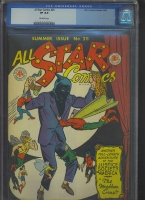 All Star Comics #25 CGC 8.0 ow