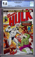 Incredible Hulk #162 CGC 9.6 ow/w