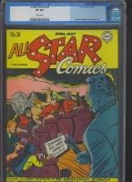 All Star Comics #28 CGC 8.0 w
