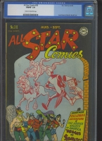 All Star Comics #30 CGC 7.0 cr/w