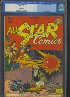 All Star Comics #31 CGC 8.0 ow