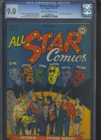 All Star Comics #32 CGC 9.0 cr/ow