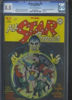 All Star Comics #33 CGC 8.5 ow/w