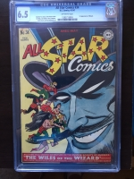 All Star Comics #34 CGC 6.5 ow