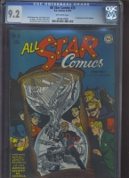 All Star Comics #35 CGC 9.2 ow