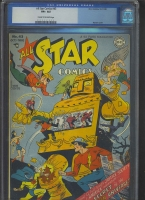 All Star Comics #43 CGC 8.5 cr/ow