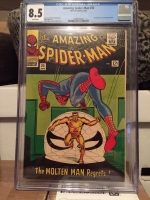 Amazing Spider-Man #35 CGC 8.5 w