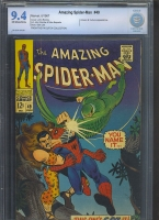 Amazing Spider-Man #49 CBCS 9.4 ow/w PA. Dutch Collection