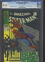 Amazing Spider-Man #65 CGC 9.4 ow/w