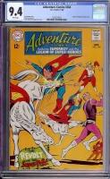 Adventure Comics #364 CGC 9.4 w