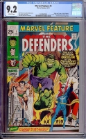 Marvel Feature #1 CGC 9.2 ow