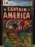 Captain America Comics #17 CGC 7.0 cr/ow