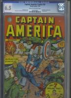 Captain America Comics #20 CGC 6.5 cr/ow