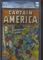 Captain America Comics #21 CGC 6.5 cr/ow