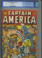 Captain America Comics #31 CGC 8.0 cr/ow