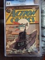 Action Comics #54 CGC 3.5 cr/ow