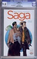 Saga #1 CGC 9.8 w