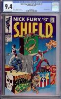 Nick Fury, Agent of SHIELD #1 CGC 9.4 ow/w