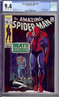 Amazing Spider-Man #75 CGC 9.4 ow/w