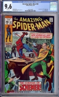 Amazing Spider-Man #83 CGC 9.6 w