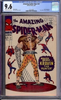 Amazing Spider-Man #47 CGC 9.6 ow/w