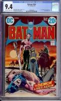 Batman #244 CGC 9.4 ow/w