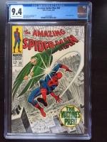 Amazing Spider-Man #64 CGC 9.4 ow/w