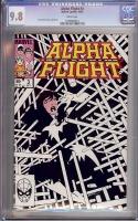 Alpha Flight #3 CGC 9.8 w