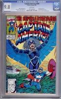 Captain America #389 CGC 9.8 w