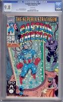 Captain America #391 CGC 9.8 w