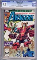 Avengers #198 CGC 9.8 w