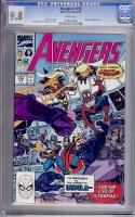 Avengers #316 CGC 9.8 w