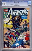 Avengers #330 CGC 9.8 w