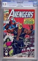 Avengers #331 CGC 9.8 w