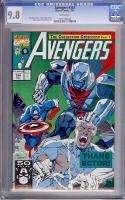 Avengers #334 CGC 9.8 w
