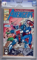Avengers #335 CGC 9.8 w